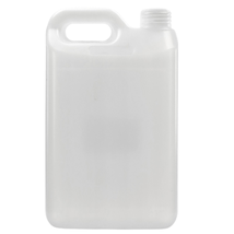 2.5L Jerry Plastic HDPE, Lid Included