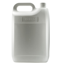 5L Jerry Plastic, Lid Included, 20 Pack