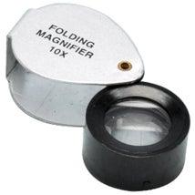Magnifier, Pocket Folding 20mm, 10x Magnification