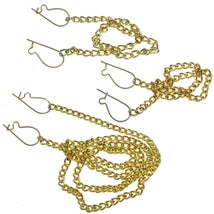 Circular Motion Kit, Set of 3 Chains & 6 Catches
