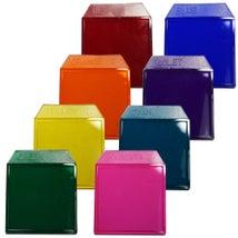 Light Box Accessories, Colour Filters 50mm, 8PK