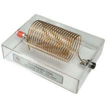 Magnetic Field Demo, Solenoid Coil Through Base