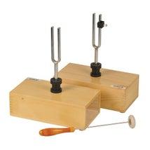 Tuning Forks, Steel, In Box, Pair