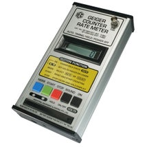 Geiger Counter, Counter, Battery LCD Timer/Rate, No Tube