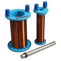 Mutual Induction Apparatus, 2x Coils & Iron Core