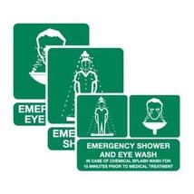 Signage, Eyewash/Shower