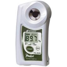 PAL-BX/RI Digital Refractometer - Brix : 0.0 to 93.0 % RI 1.3306 to 1.5284 Dual