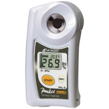 PAL-S Digital Refractometer - Brix 0.0 to 93.0 % Fatty and Dark Samples