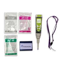 Food Tester Kit pH 5, 0.01 pH Resolution, ATC, Replaceable Sensor
