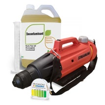 Surface Disinfectant Kit: Fogger, Disinfectant & Accessories