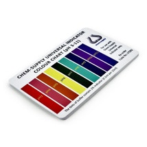Universal Indicator Colour Charts