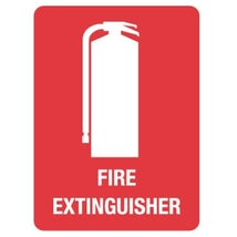 Fire Extinguisher Sign, 225 x 300mm