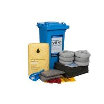 General Purpose Wheeled Bin Spill Kit 120L