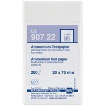 Qualitative Test Strips, 20 x 70mm, Ammonium, 200PK