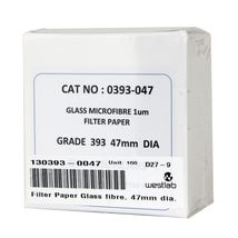 Filter Paper Glass Fibre, 70mm Dia. DISCONTINUING