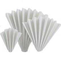 Filter Paper Folded, Qualitative Medium Fast, MN 614, 320mm Dia