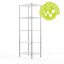 Chrome Plated Steel Wire Shelving 455 x 610