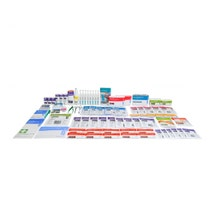 Workplace First Aid Refill Kit, 1 - 25 People