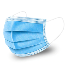 Face Mask Earloop, 3-Layer - Blue DISCONTINUED