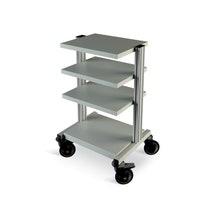 Modular Trolley, 4 Shelves & Castors Kit