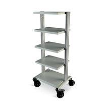 Modular Trolley, 5 Shelves & Castors Kit