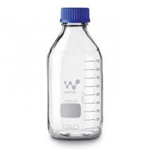 Reagent Bottles, Borosilicate, Screw Cap & PP Pouring Ring