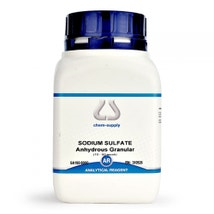 Sodium Sulfate AR Anhydrous Granular, 10-60 Mesh
