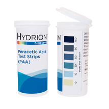 Peracetic Acid (PAA) Test Strips 0-160ppm